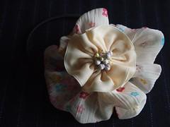 hair clips (pitufimin) Tags: flower handmade hairclip hairaccessory