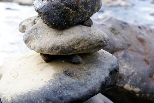 栃尾の石積み