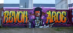 AROE & REVOK. PURPLE REIGN. (Heavy Artillery) Tags: usa germany graffiti la brighton artillery msk ha heavy revok aroe