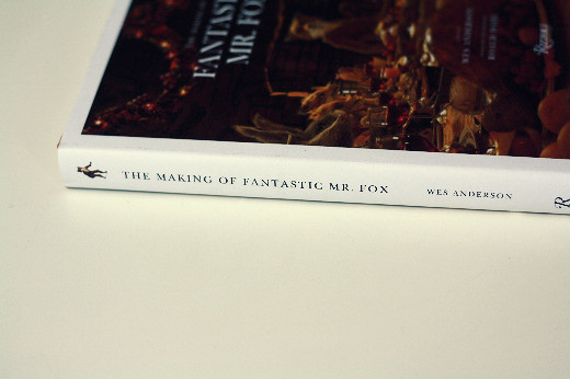 The Making of Fantastic Mr. Fox Book Spine