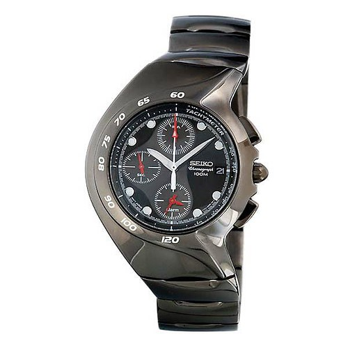 relógio preto esportivo