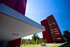 Hochhuser Glanzenberg #2 (yago1.com) Tags: urban rot architecture modern schweiz switzerland bahnhof stadt architektur build zuerich futuristic 2010 hochhaus mimoa glanzenberg yago1 glanzenbergbahnhof