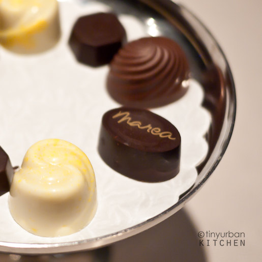 Marea chocolates