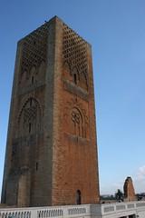 Tour Hassan II (Rabat) (Pab2944) Tags: monument tour maroc marocco hassan rabat royaume tourhassan