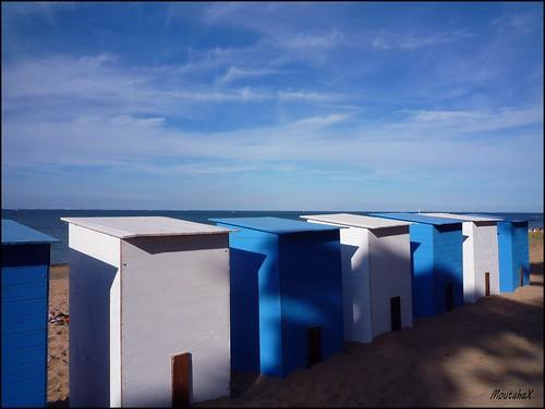 Cabines de plage / cabanas