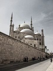 Citadel of Salah El.Din and Masjid Muhammad Ali          / Cairo / Egypt - 08 05 2010 (Ahmed Al.Badawy) Tags: architecture shots citadel 05 egypt ali cairo ottoman ahmed turkish masjid 08 muhammad islamic 2010 salah   eldin      albadawy hutect