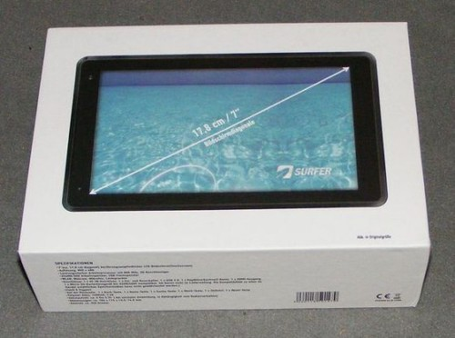 Smartbook Surfer 7 Zoll Tablet Unboxing