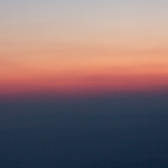 M i n i m a l i s m (HipChicklette (perenially catching up)) Tags: pink blue sunset red orange abstract black square nc soft peaceful northcarolina zen serene minimalism squarecrop blueridgeparkway nightfall woolybackoverlook