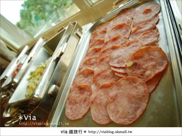 【新竹旅館】關西六福莊生態渡假旅館~餐食篇18