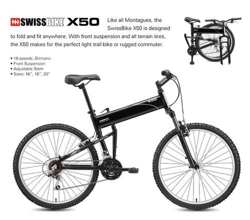 Swissbike X50 The Full Sized Mtb That Folds Under 20 Seconds
