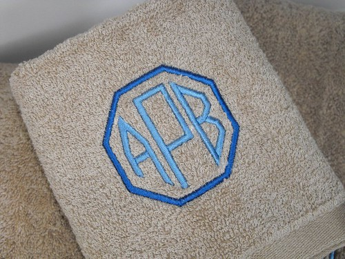 Towel Set Monogram