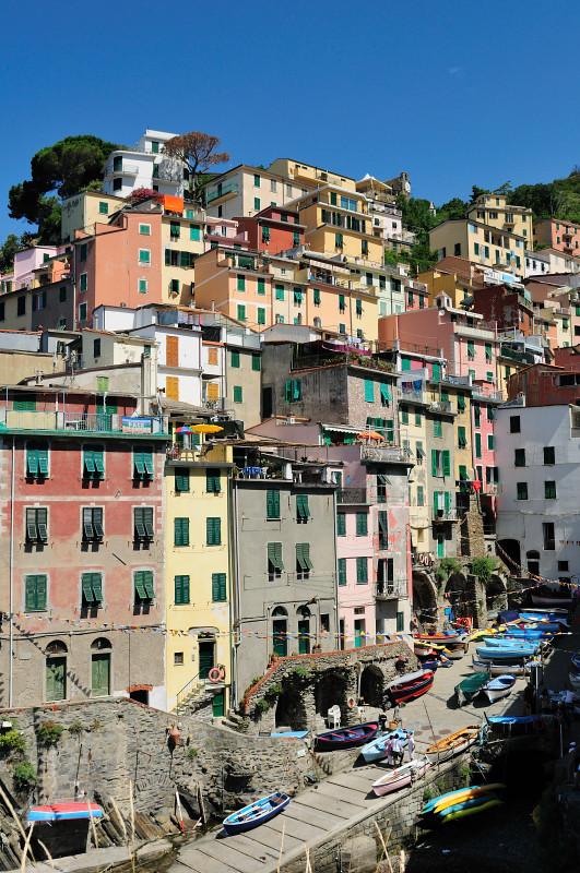 A Quintessential View of Riomaggiore