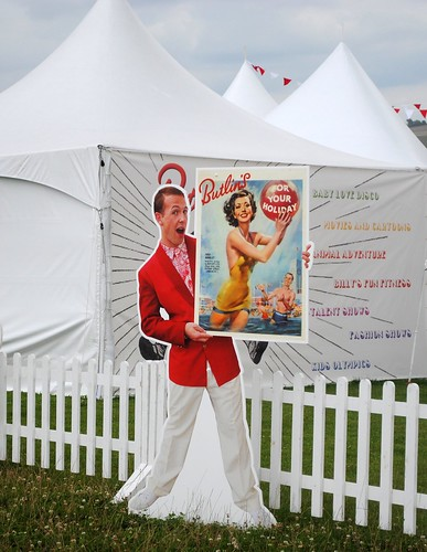 Retro Butlins at Vintage at Goodwood