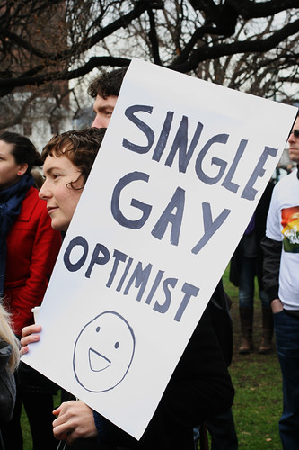 Single Gay Optomist