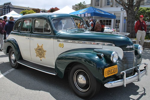 Classic Pacific Grove police car