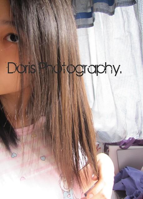 very brown hair