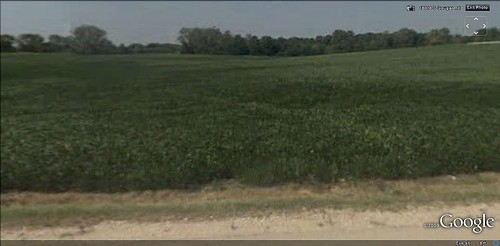 across the road from Prairie Ridge Estates (via Google Earth)