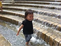 水遊びだいすき!
