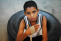 Young Boxer (Giovanni Savino Photography) Tags: fight dominican fear young tire punch boxing rolling magneticart giovannisavino magneticpic ©giovannisavino