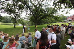 Wedding Ceremony Crowd