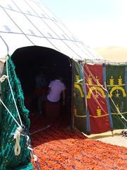 (dancypants) Tags: sahara desert tent morocco shade rug inviting 2010