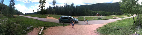 Panorama at Jack's Creek Campground, Pecos Wilderness, New Mexico
