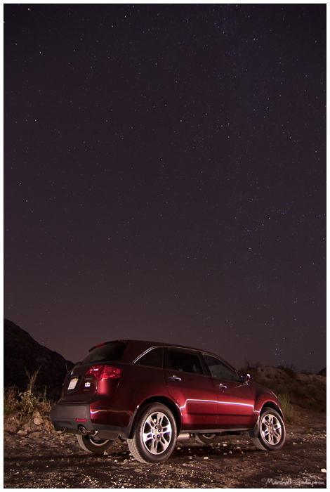 Car and stars