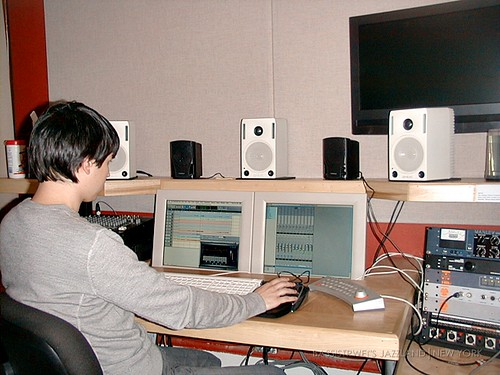 studio recording 001S