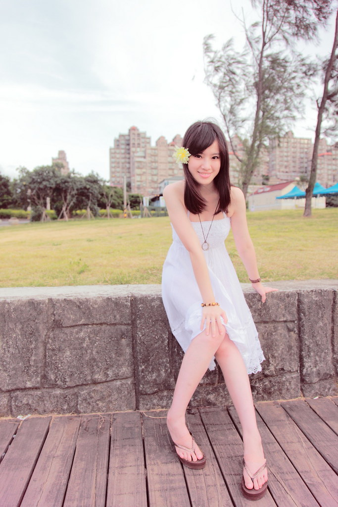 "去海邊~   拍    "" Vanilla ""           (單眼 pk 小DC美肌)"