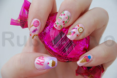 (EXPLORED) Katy Perry - California Gurls (Rubia Olivo ~ Nail Art) Tags: glitter goma cupcake morango cereja bombom bala pirulito sorvete explored katyperry californiagurls