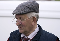 The winning owner (Frank Fullard) Tags: street portrait dog greyhound festival proud candid racing cap winner mayo modest doolough erris belmullet fullard geesala frankfullard