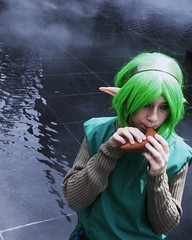 Saria in the Water Temple (gwiguig) Tags: storm trooper forest woods silent time chief hill halo master convention hero link sword zelda nurse 2010 kokiri otakuthon gwiguig