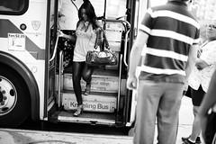 (andre dos santos) Tags: street nyc newyorkcity blackandwhite newyork bus public digital canon 50mm publictransportation harlem manhattan transportation mta l 5d kneeling fare ef mkii sugarhill 225 f12 llens kneelingbus 50l f12l 50mml bx19 canon5dmkii
