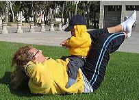 anne ve bebk egzersiz