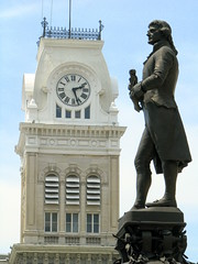 Louisville City Hall Tower & Jefferson Monument