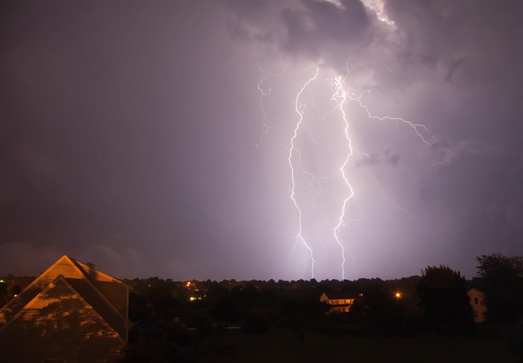 Lightning August 2010 Middletown, RI