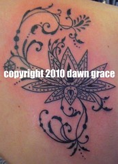 www.dawngrace.com (professional tattooing by dawn grace) Tags: trees woman india chicago black color colour tree art texture feet leaves lines tattoo female stars asian foot grey dawn star back leaf illinois asia artist pattern lotus indian trails ivy grace tattoos professional hips ribs swirl swirls tatoos rib hip swish dots henna nouveau tatoo ankle shoulder deco swoop mehndi swirly swishy tattooing realistic tatooing swoopy tatooer