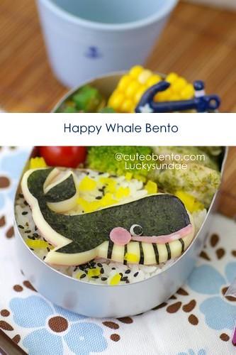 Happy Whale Bento