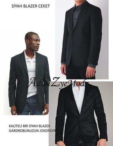 siyah blazerlar