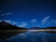 Maligne Starry Sky