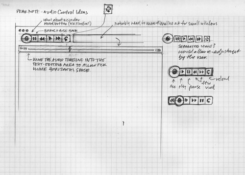 Pear Note 2.0 Sketch Wireframe v2