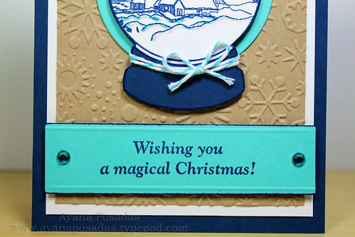 Wishing You a Magical Christmas Snow Globe (5)