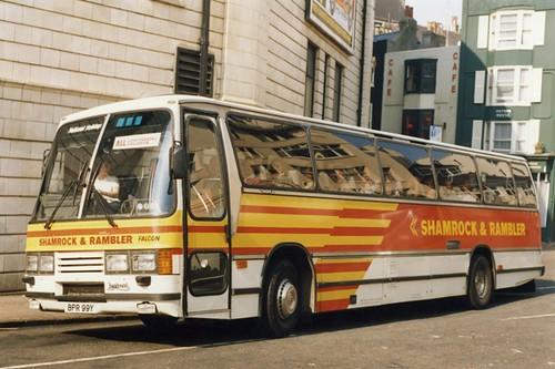 Shamrock & Rambler Duple Laser Leyland Tiger BPR 99Y