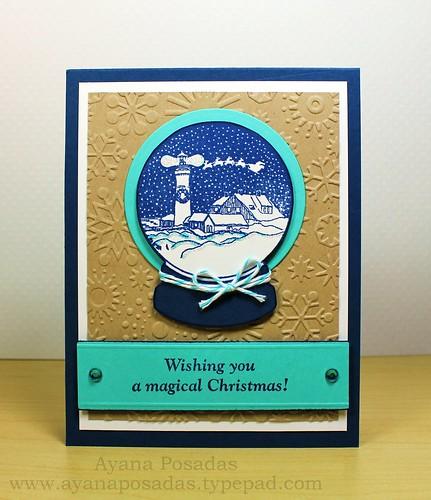 Wishing You a Magical Christmas Snow Globe (2)