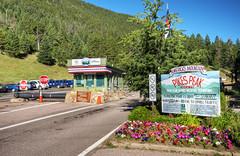 Pikes Peak Highway Entrance