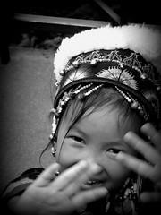 Camera Shy... (Joey Dunne) Tags: camera thailand shy chiangmai