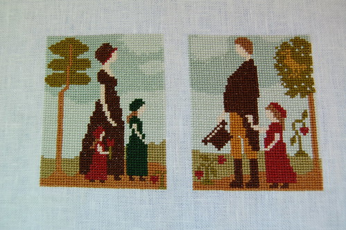 Mr and Mrs Abbott's Daughters finished