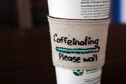 Caffeinating . . .
