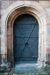 Nuremberg Castle door