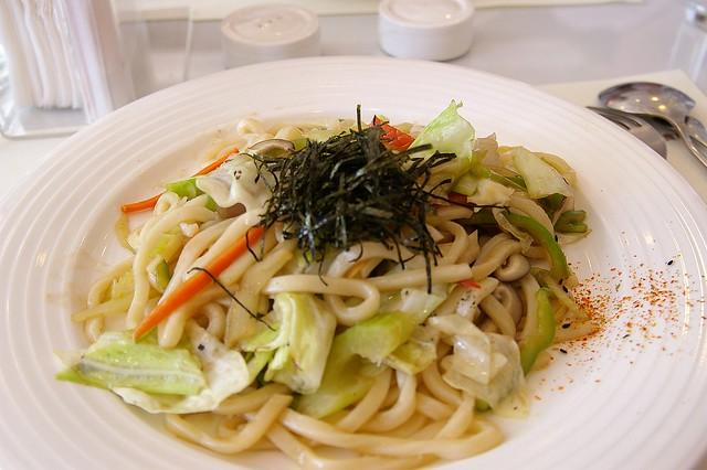 IMGP0707_小麥草烏醋炒烏龍麵